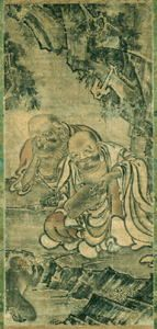 十六羅漢図