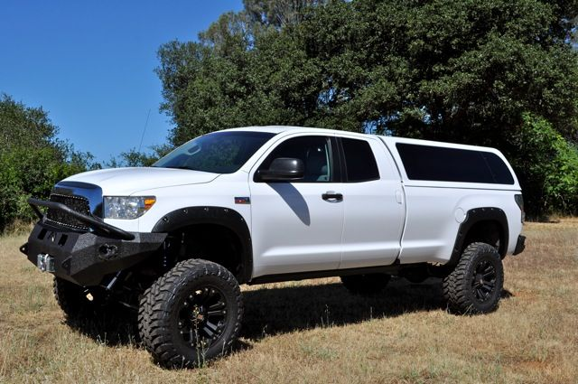 Lifted Truck With Camper Shell Google Search Cool