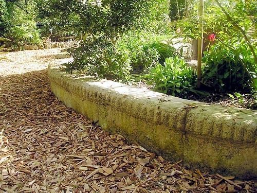 Hypertufa borders a lovely edging gardening tips for Raised border edging