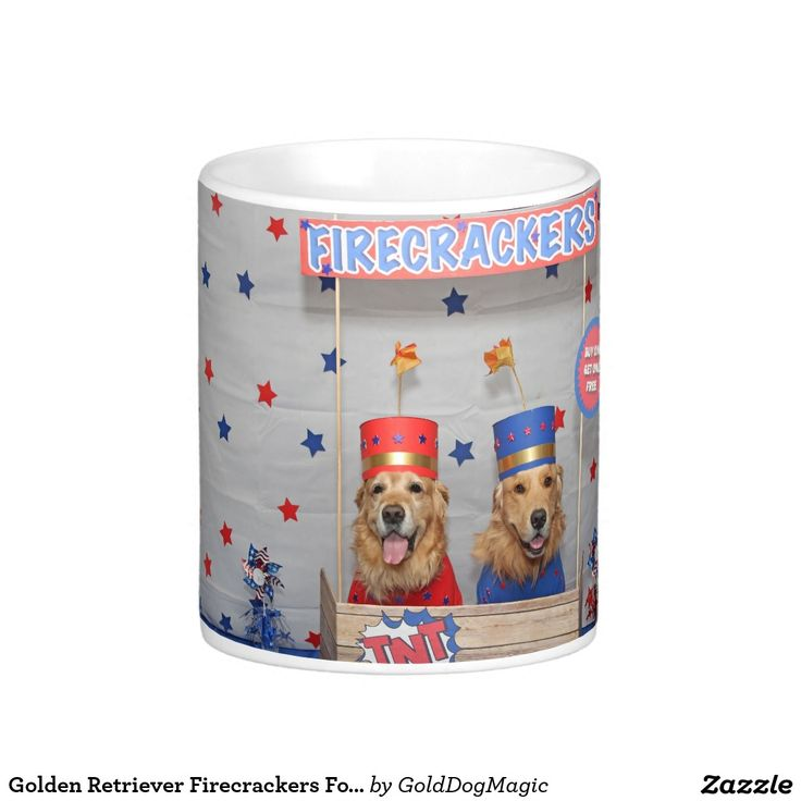 Golden Retriever Firecrackers For Sale Coffee Mug