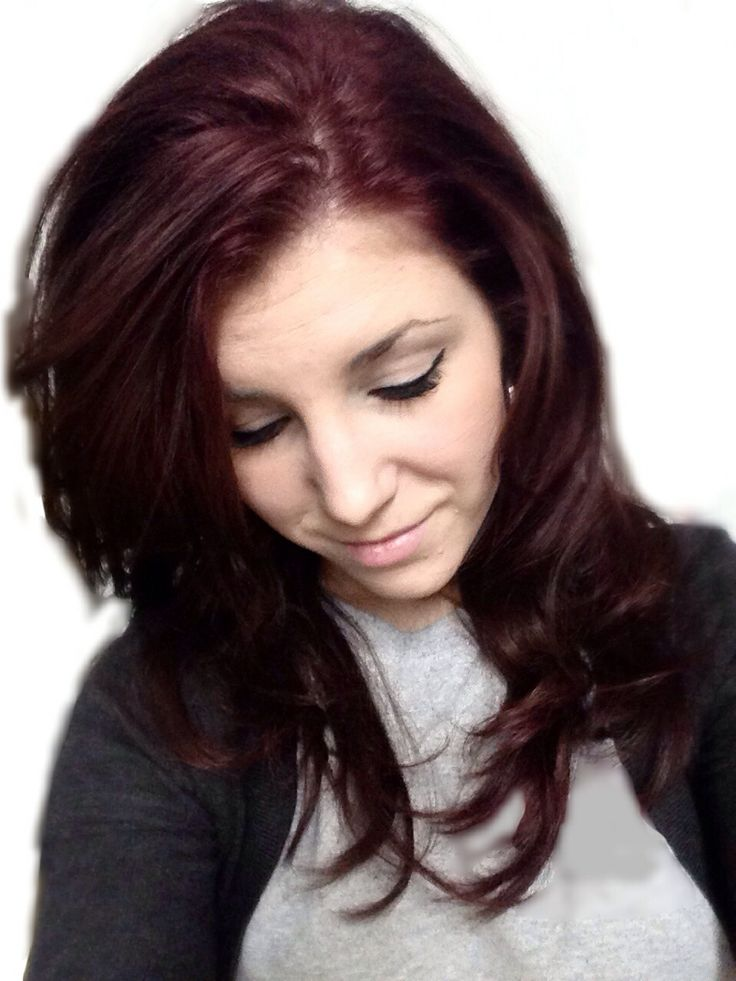 Dark Cherry Red Hair Might Do This Next Time And Maybe Add Some