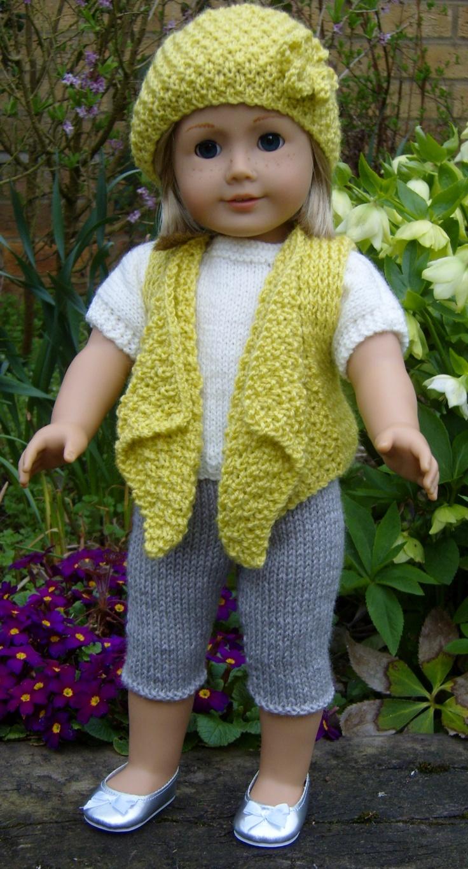 555 best American Girl Knitting Patterns images on Pinterest ...