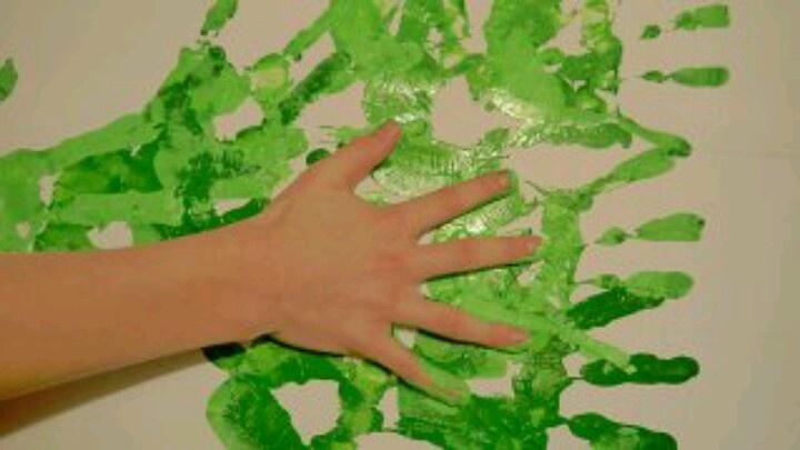 """""""Groene vingers"""" met thema Groeien & Bloeien. www.peuteractiviteitenweb.nl"""
