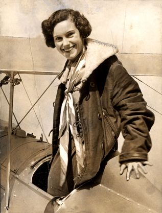 Jean Gardner Batten CBE OSC was a New Zealand aviatrix. Born in Rotorua, she became the best-known New Zealander of the 1930s, internationally, by taking a number of record-breaking solo flights across the world. She flew from England to Australia.