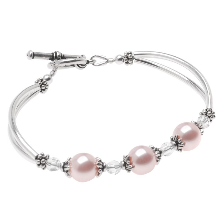 Tutorial - How to: Pink Colette Bridesmaid Bracelet | Beadaholique