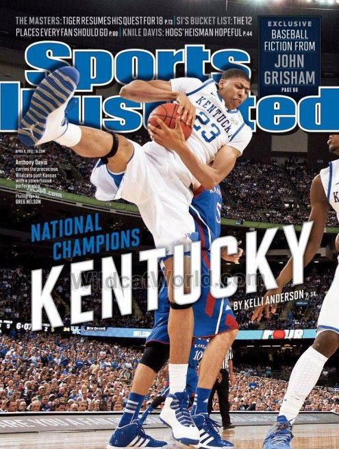Sports Illustrated is another one of my favorite magazines. Especially University of Kentucky Basketball. of course I like other sports, like University of Kentucky football, University of Kentucky baseball, University of Kentucky soccer. I think you get the picture.