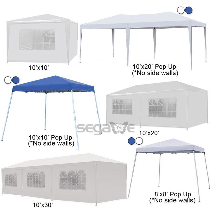 10 20 30 Outdoor Wedding Party Tent Heavy duty Gazebo Canopy Pavilion Cater