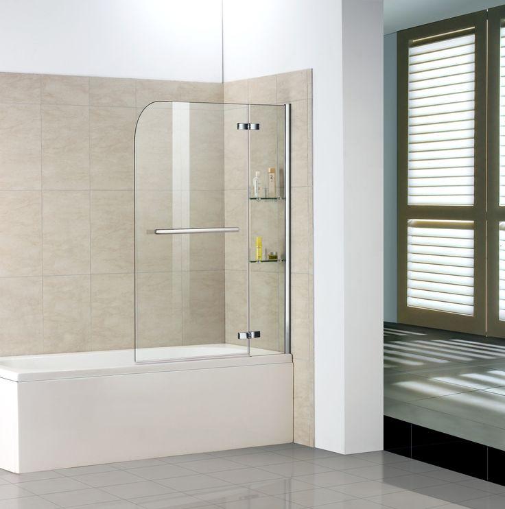 16 besten Duschwände für Badewannen Bilder auf Pinterest Silber - badezimmer farbe obi