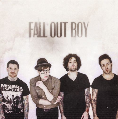Fall Out Boy. It's funny they look so serious and we all know they're the strangest band xD