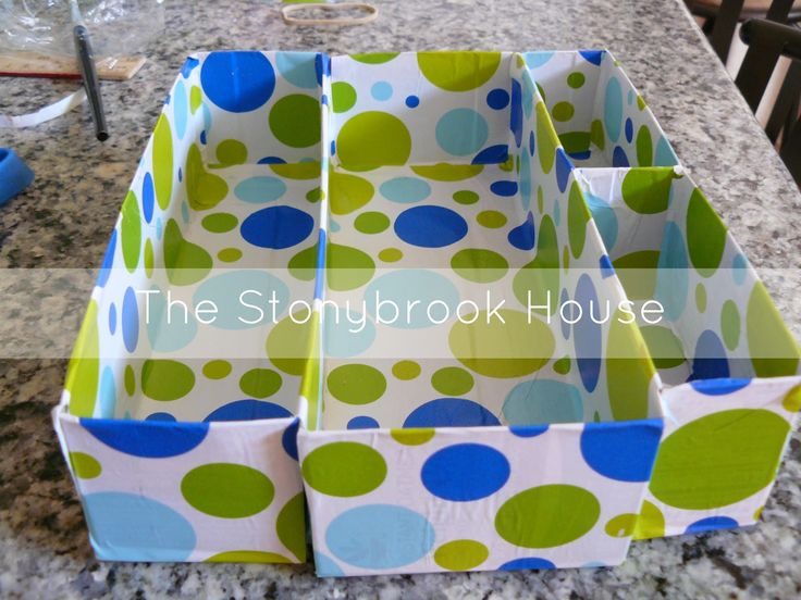 The Stonybrook House: Messy Desk Dilema {DIY Drawer Organizer}
