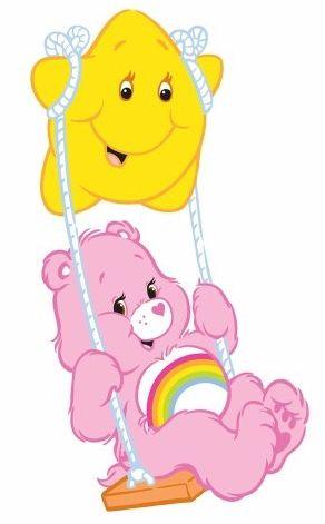 Care Bears: Cheer Bear Swinging on a Star