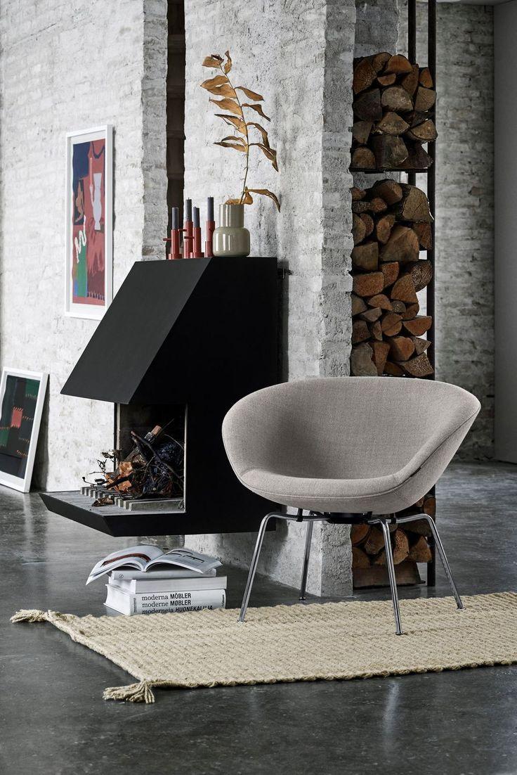Salon Maison et Objet 2018 : le fauteuil the Pot de Arne Jacobsen revient chez Fritz Hansen