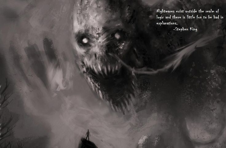 """""""Nightmares exist outside the realm of logic & there is little fun to be had in explanations"""" Stephen King #quote"""