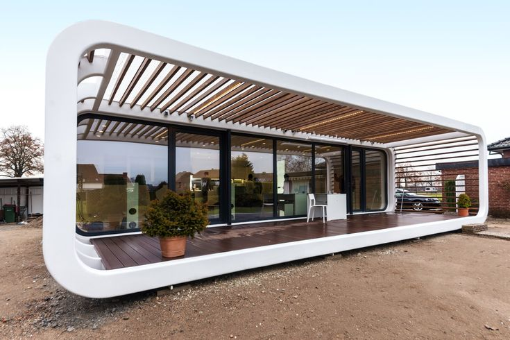 These self-sufficient, modular prefab housing units from Germany offer smart home technology and are designed to meet the Passive House Standard.
