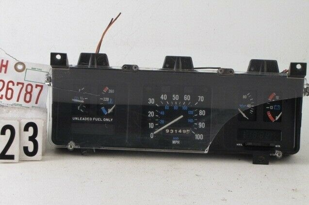 Sponsored Ebay 86 91 Jeep Grand Wagoneer J10 J20 Instrument