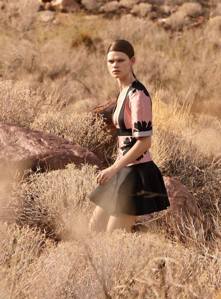 """The New Shape"": Kelly Mittendorf By Natth Jaturapahu For Harper's Bazaar Thailand March 2015"