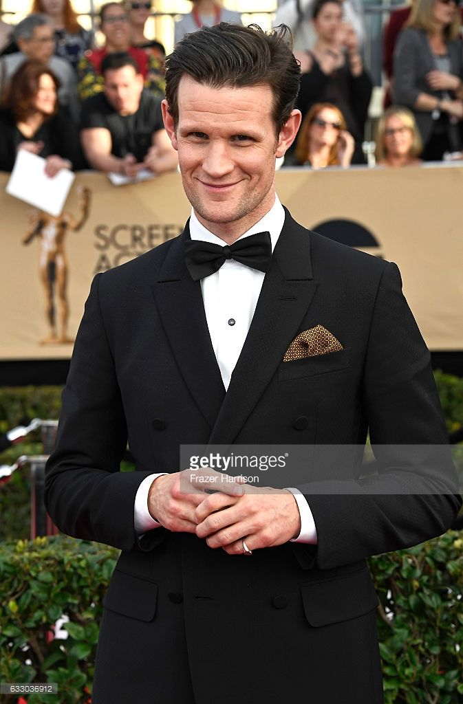 Actor Matt Smith attends The 23rd Annual Screen Actors Guild Awards at The Shrine Auditorium on January 29, 2017 in Los Angeles, California. 26592_008