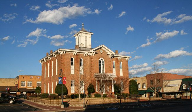 Old Randolph County Courthouse - Encyclopedia of Arkansas