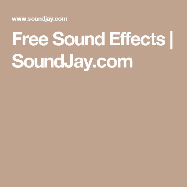 Free Sound Effects   SoundJay.com