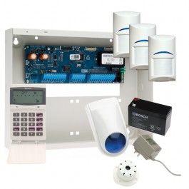Bosch Solution 16i Alarm System with 3 Gen 2 Quad Detectors + Icon Prox Codepad