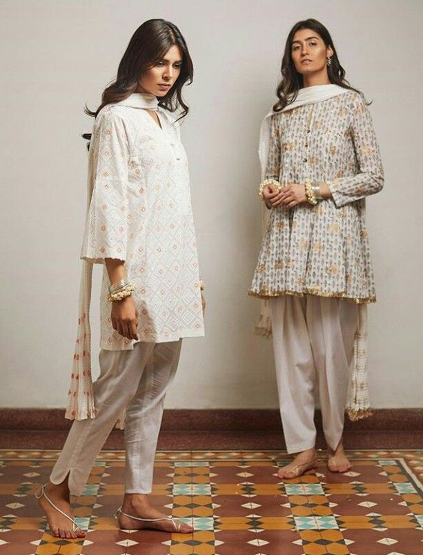 Pakistani shalwar kameez by Zara Shahjahan.