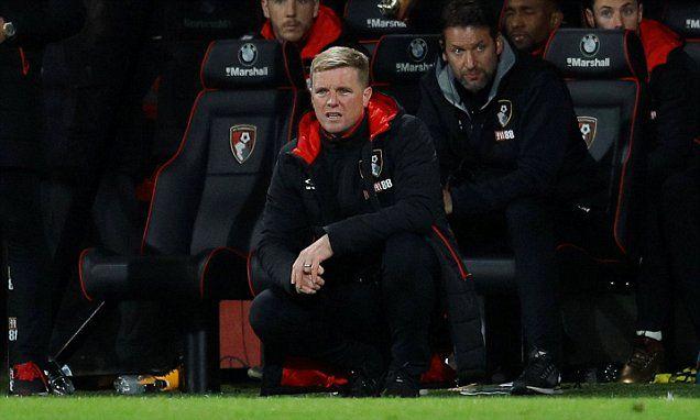 Eddie Howe: Bournemouth below par in Burnley home defeat