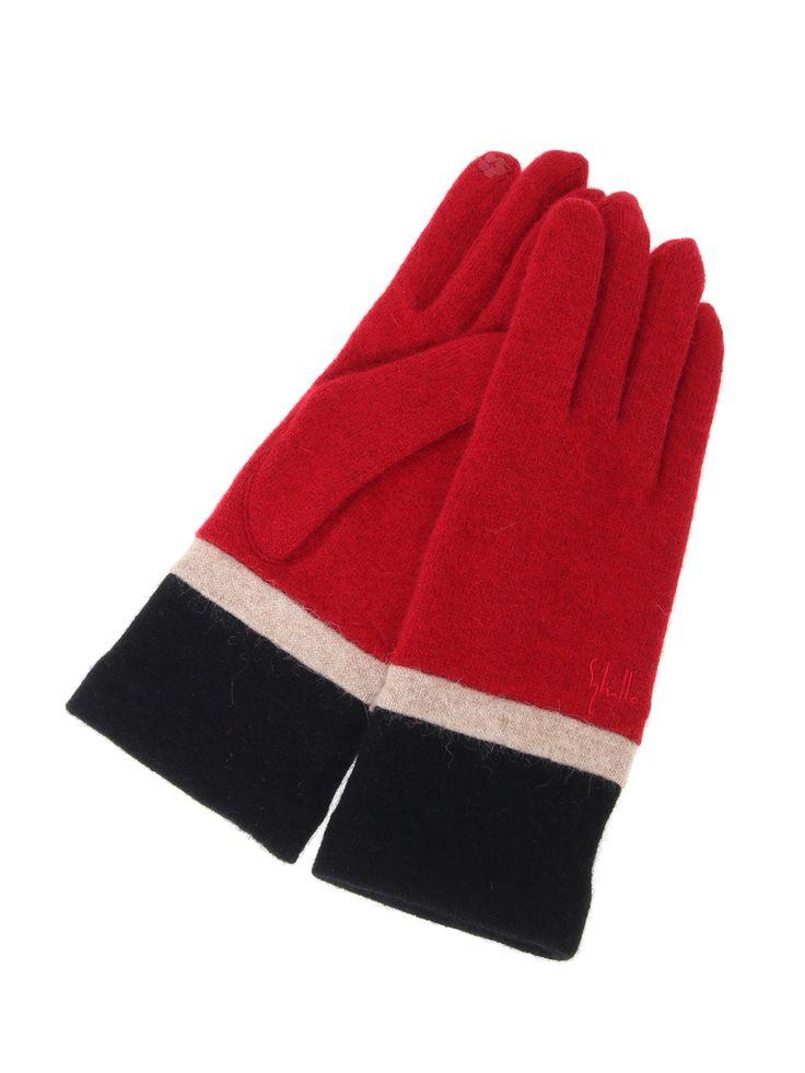 Smartphone compliant glove | Sybilla | Itokin fashion mail order site