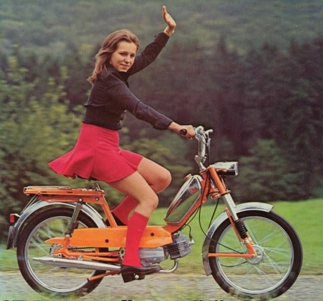 1975 Kreidler-- Now That's Style