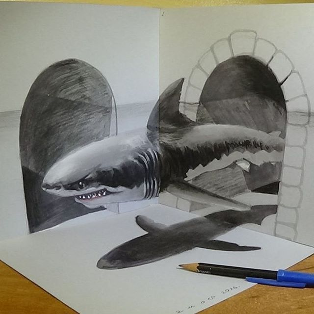 Best 25+ Optical Illusions Drawings ideas on Pinterest | Optical ...