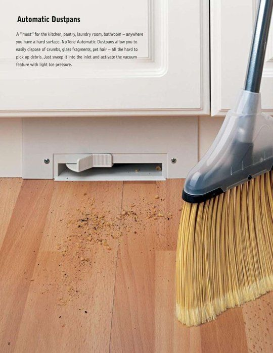 Toe Kick Vacuums May Be the Most Genius Kitchen Invention Ever | The Kitchn