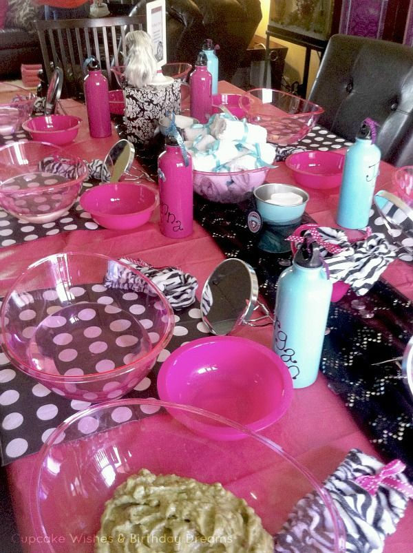Cupcake Wishes & Birthday Dreams: {Party Recap} Monster High Spa Party @Cupcake Wishes & Birthday Dreams