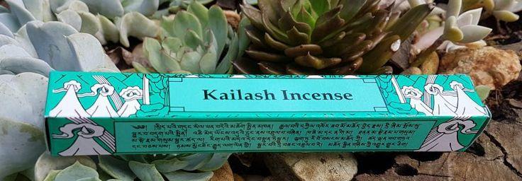 Kailash Incense - Incenso Tibetano  Purifica a mente e o corpo, atraindo energia positiva e bem aventurança.