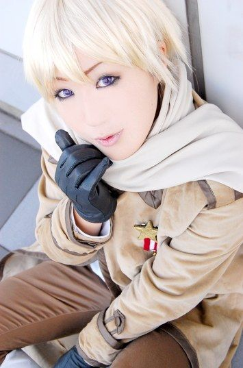 Russia   Hetalia Axis Powers #cosplay #anime Des-Chan ~ Russia got very cute so suddenly