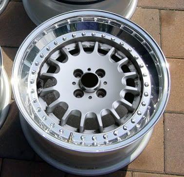 2 piece bottle cap wheels off bmw e30 widened goodness for Garage audi agde