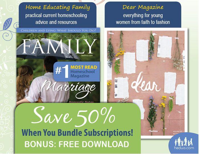 50% HEDUA Magazine Bundle + Free Download – Only $32.47! (Reg. $70!)