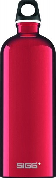 SIGG Bottles - 1.0L Red Classic Traveller