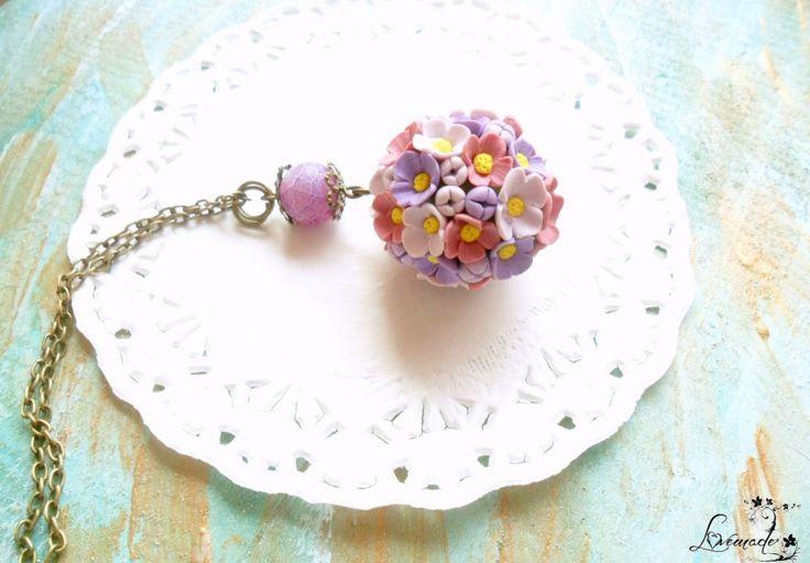 Lilac dreams (set colier cercei) (50 LEI la LoveMade.breslo.ro)