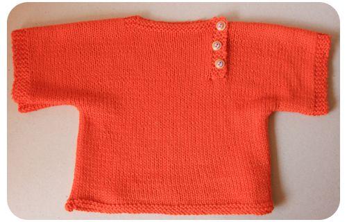 un peit pull simple pour le printemps des bb le tuto de melle H