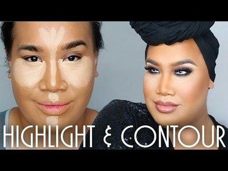 Patrick starrr highlight & contour - #contour #highlight #makeup…