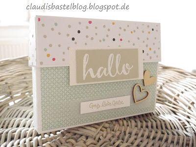 Eine neue Verpackung/Box z. B. für Karten oder ähnliches...