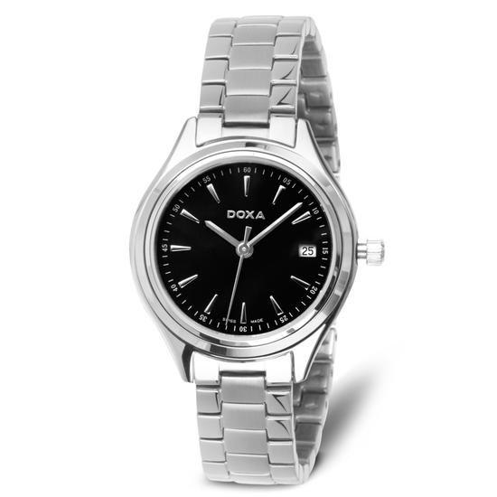 Zegarek DOXA, 875 PLN www.YES.pl/53896-zegarek-doxa-TC33852-S0000-000000-000 #jewellery #Watches #BizuteriaYES #watch #silver #elegant #classy #style #buy #Poland