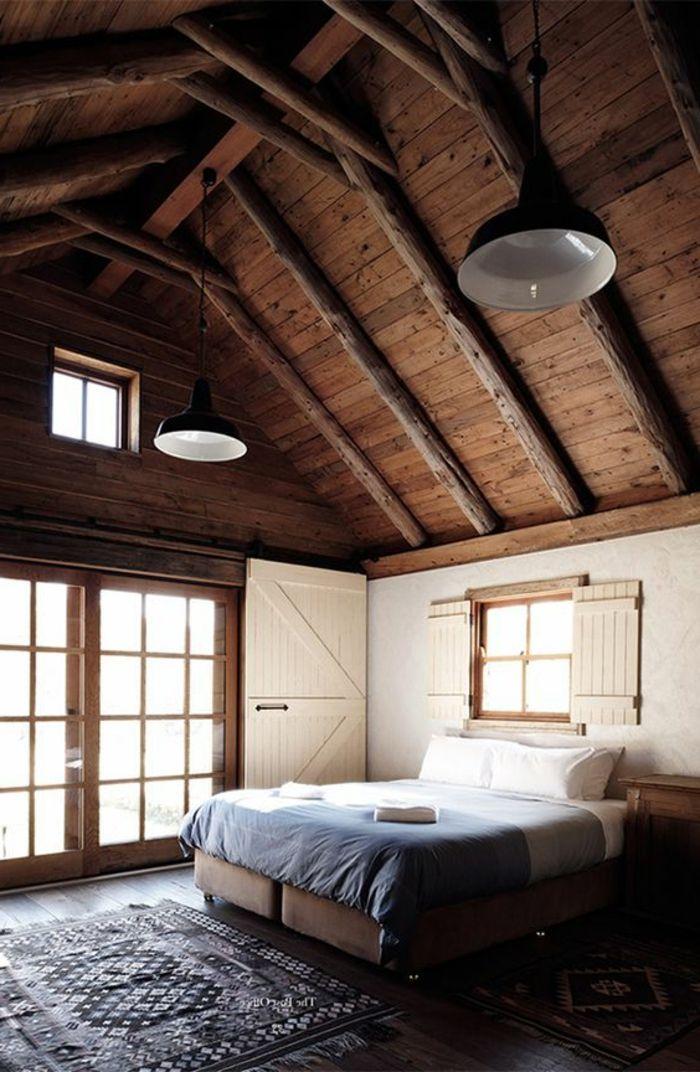 17 meilleures id es propos de chambre avec plafond haut sur pinterest chambres parentales for Quelle couleur associer avec du taupe