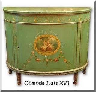 Móvel e Design: Estilo Luis XVI ou Neoclássico