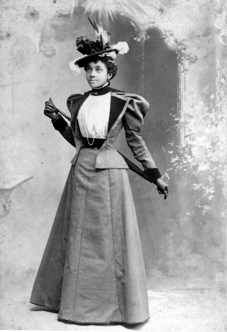 Theladybadass Fashionable Young Woman Circa 1890