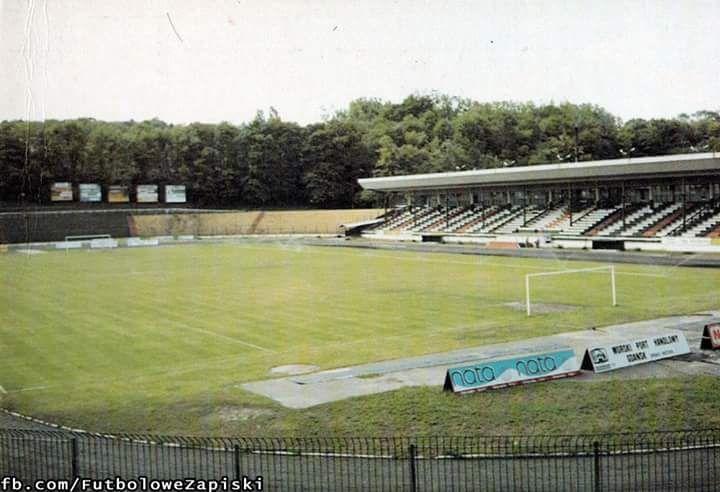 Lechia Gdańsk stadium in 1993