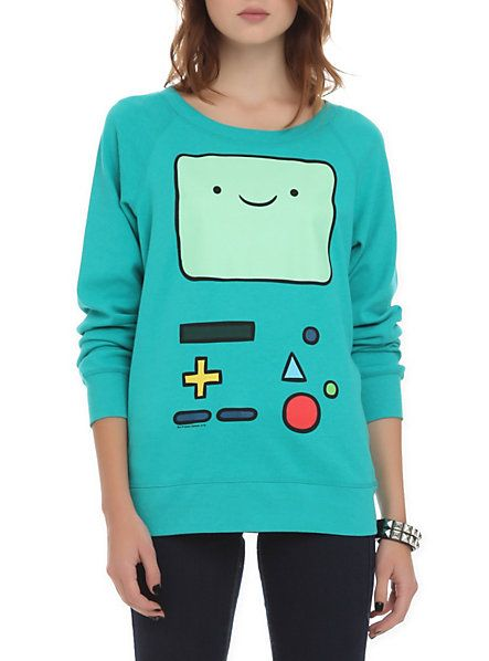 Adventure Time BMO Reversible Girls Pullover | Hot Topic