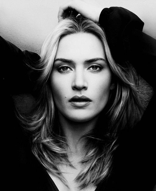 Kate Winslet. gorgeous, powerful portrait.
