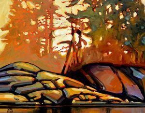 Canadian landscape painting by : Jerzy Werbel www.werbeland.ca