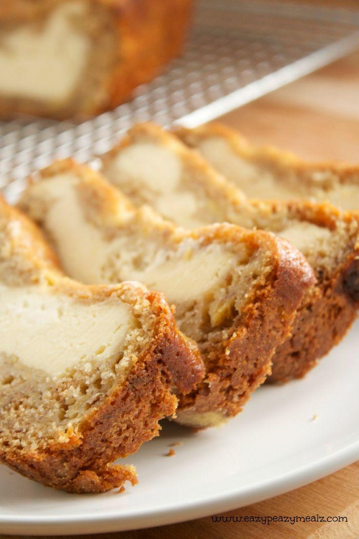 creamcheese banana bread