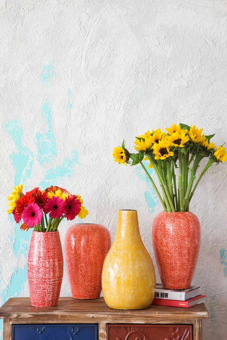 Esta primavera no pueden faltar las flores en tu hogar #VivaMexicoEasy #flowers #colors #deco #home